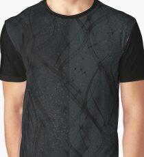 Black Swirl Graphic T-Shirt
