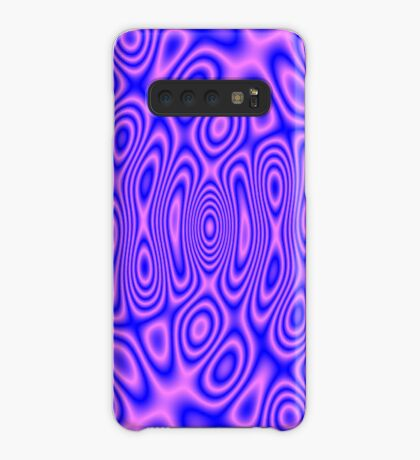 Pink Blue Cosmic Liquid Pattern Case/Skin for Samsung Galaxy
