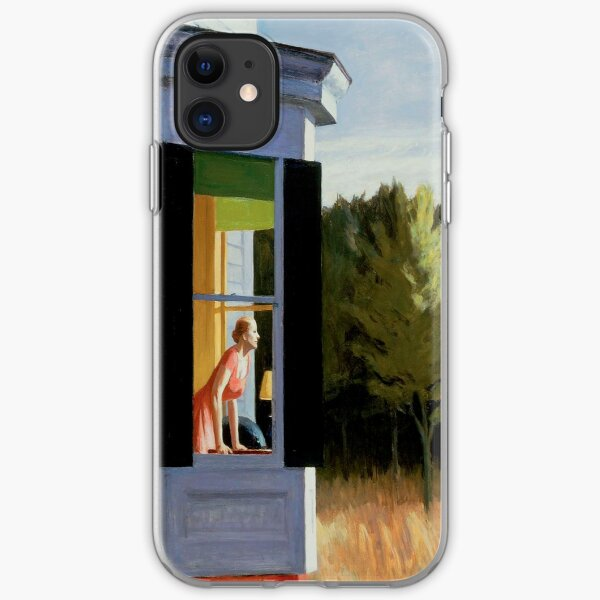Cape Cod Morning Edward Hopper iPhone Soft Case