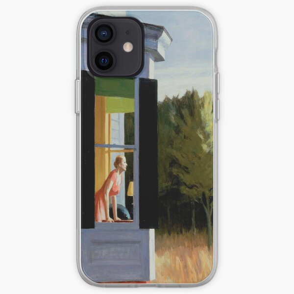 Cape Cod Morning Edward Hopper iPhone Soft Case