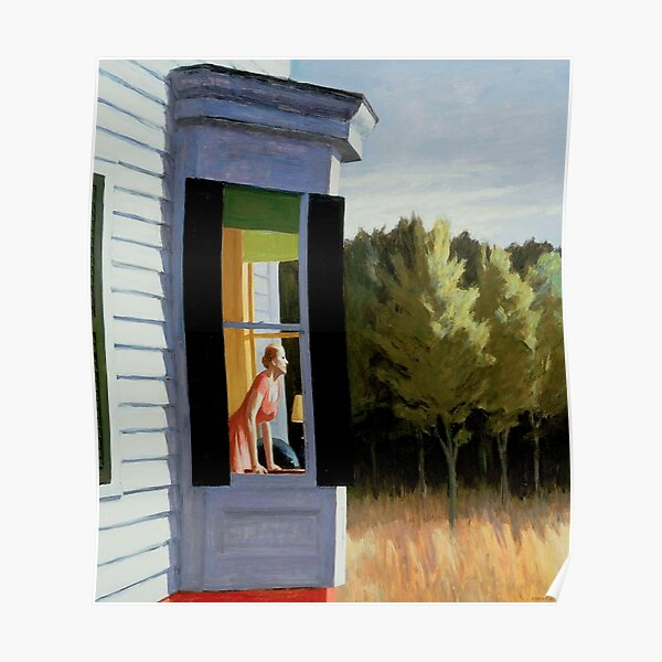 Cape Cod Morning Edward Hopper Poster