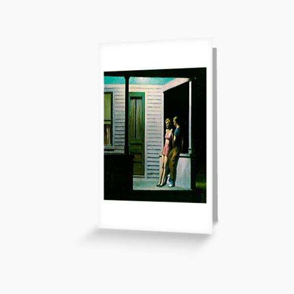 Summer Evening-Edward Hopper Greeting Card