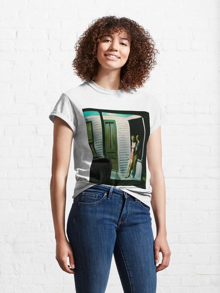 Alternate view of Summer Evening-Edward Hopper Classic T-Shirt