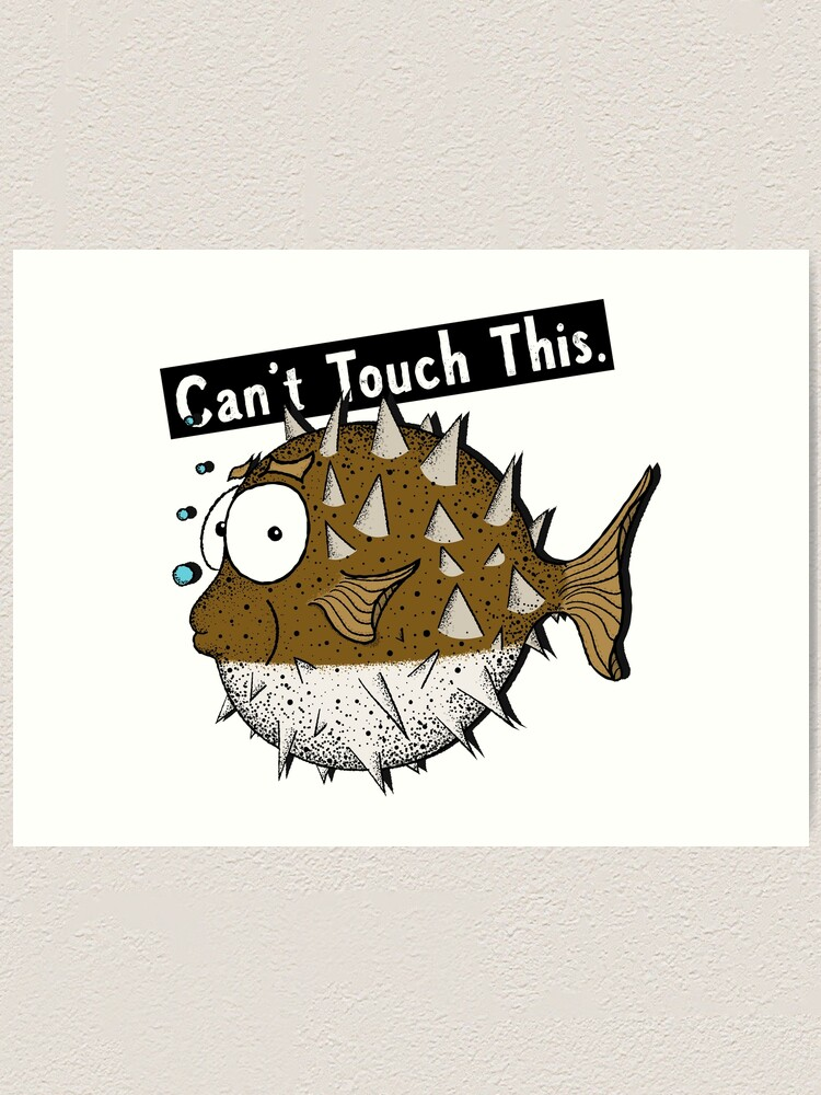 Alternate view of Can't Touch This! Art Print
