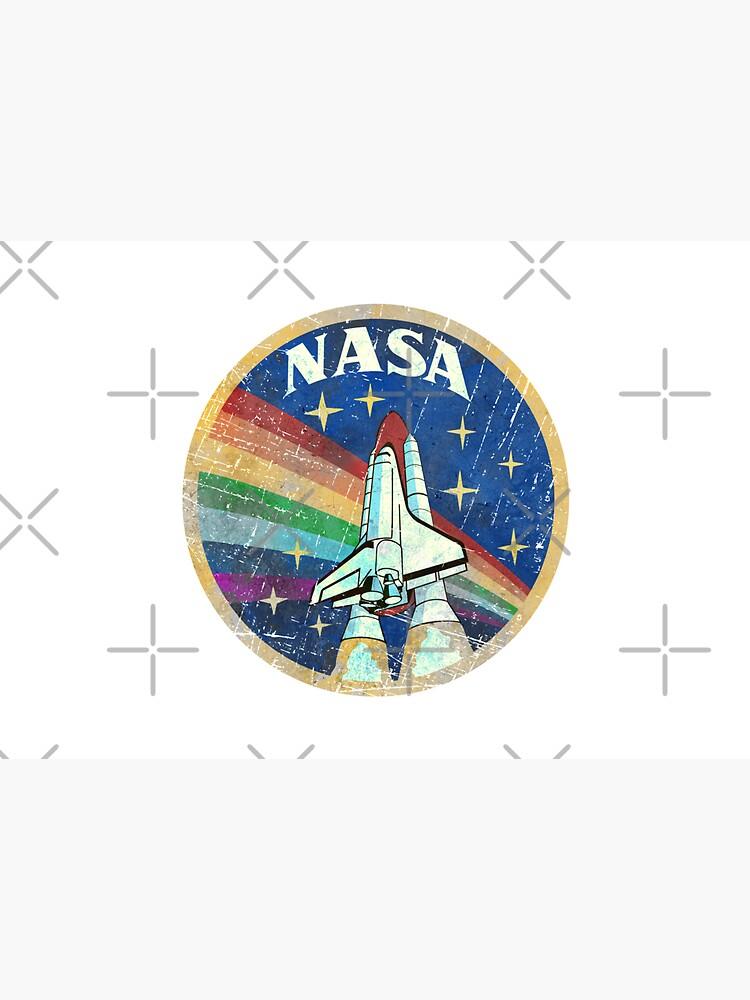 USA Vintage Rocket Rainbow V01 by Lidra