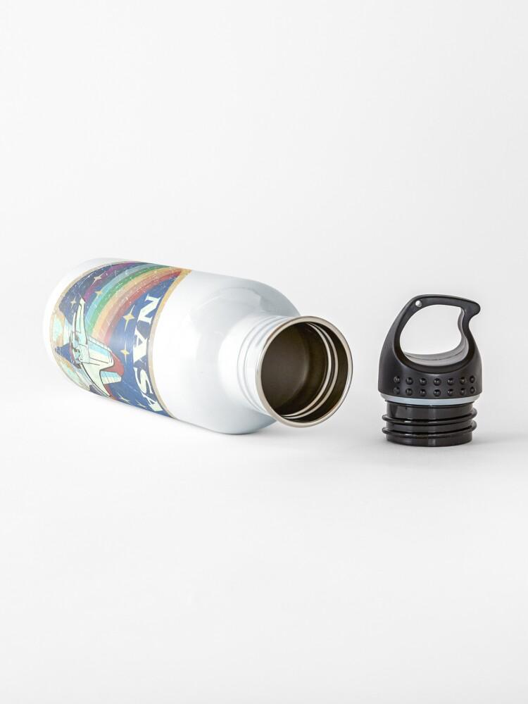 Alternate view of USA Vintage Rocket Rainbow V01 Water Bottle