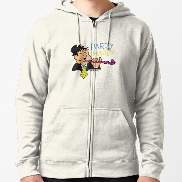 Party Hardy Zipped Hoodie
