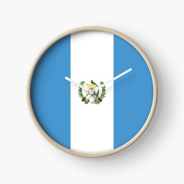 Bandera de Guatemala Reloj