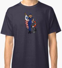 SJ Inspired Coast Guard Pinup 4 Classic T-Shirt