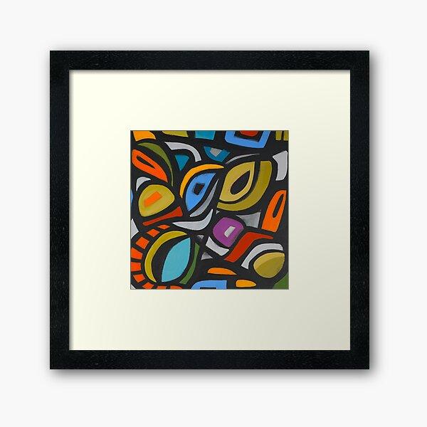 Mazatlan Cubism Framed Art Print