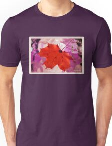 Autumn Leaf on a Wet Table T-Shirt