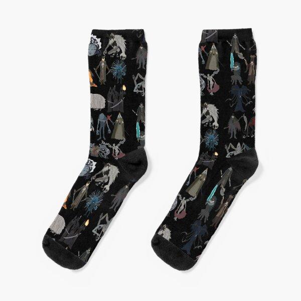 Bloodborne bosses Socks