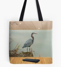 The Great Blue Heron Room Tote Bag