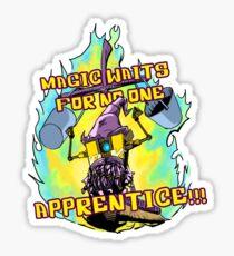 Magic Waits for No One! Sticker