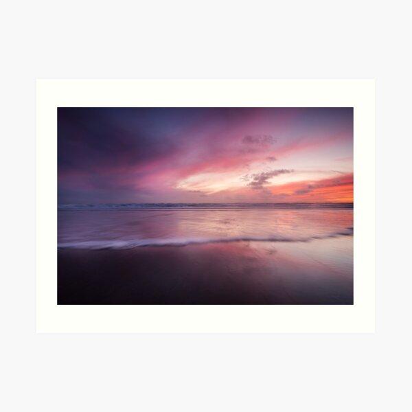 Dusk seascape Art Print