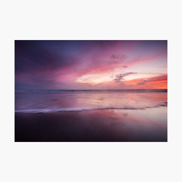 Dusk seascape Photographic Print