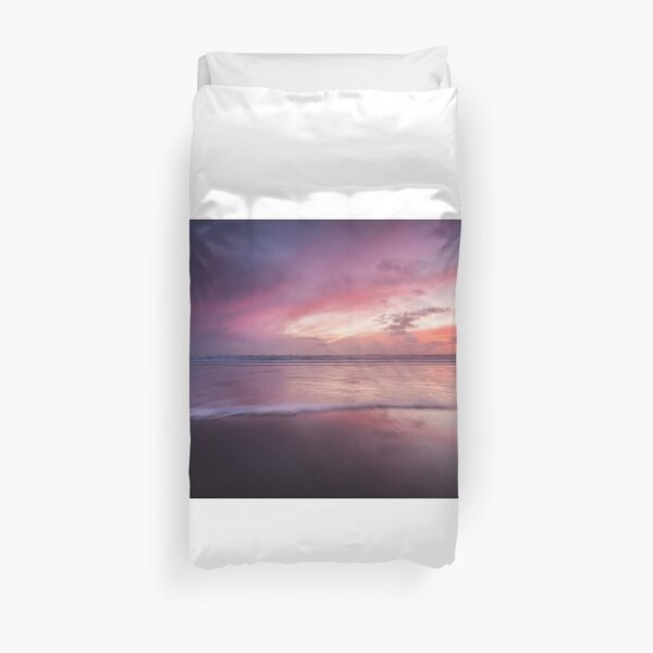 Dusk seascape Duvet Cover