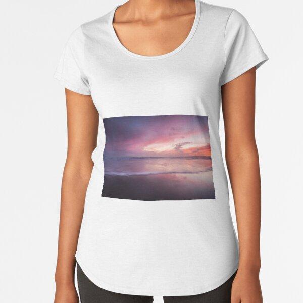 Dusk seascape Premium Scoop T-Shirt