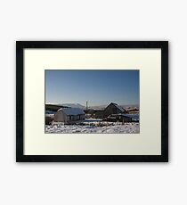 leamagowra winter Framed Print