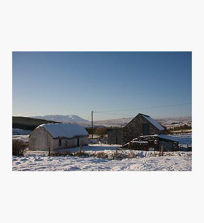 leamagowra winter Photographic Print