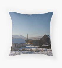 leamagowra winter Throw Pillow