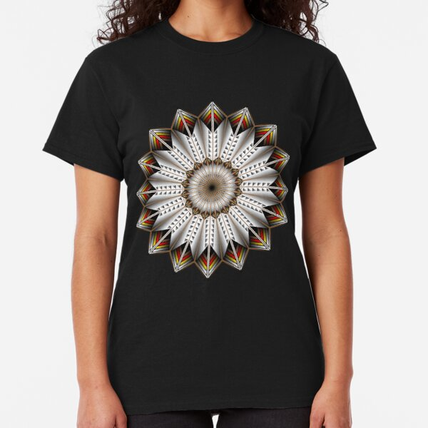 Native Feather Design Classic T-Shirt