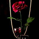 RED ROSE..RED WINE..  DIAMONDS & PEARLS by RoseMarie747