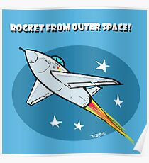 Rocket from Outer Space! Poster