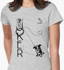 Joker Monkey Women's Fitted T-Shirt