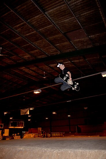 Huge Grab Air Over Death Box by Adam Costello