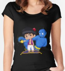 ala addin Women's Fitted Scoop T-Shirt
