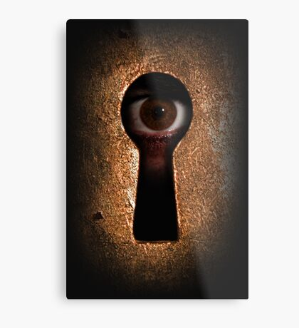 Who is watching you Metal Print