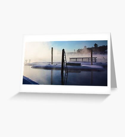 -Open Water - Brandy Pond Greeting Card