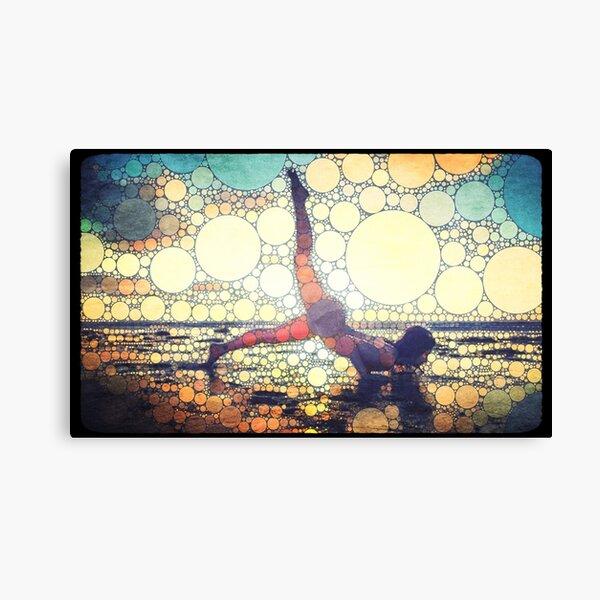 Yoga art 8 Canvas Print