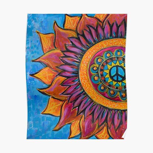 Peace Mandala Poster