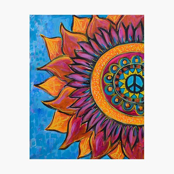 Peace Mandala Photographic Print