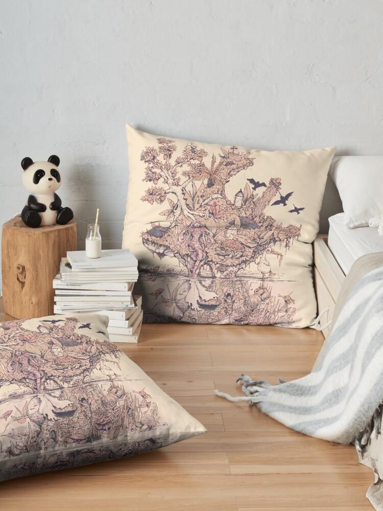 Alternate view of Fig Tree Island Floor Pillow