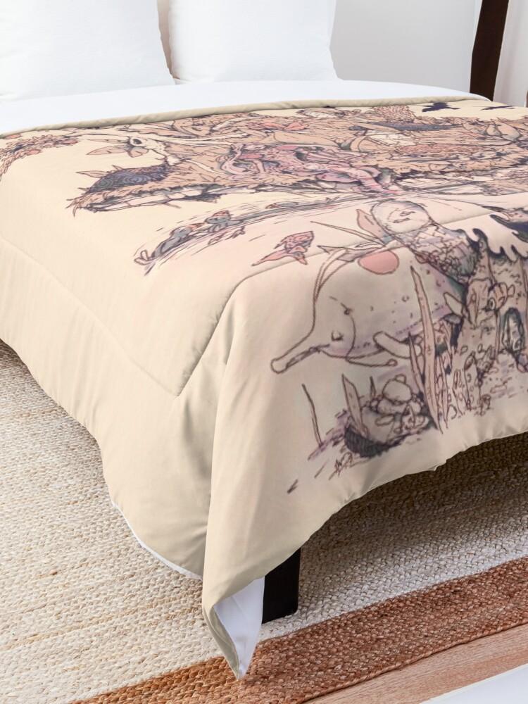 Alternate view of Fig Tree Island Comforter