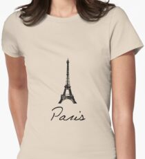 Eiffel Women's Fitted T-Shirt