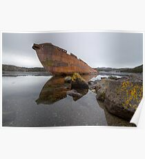 Sunken Whaler Poster