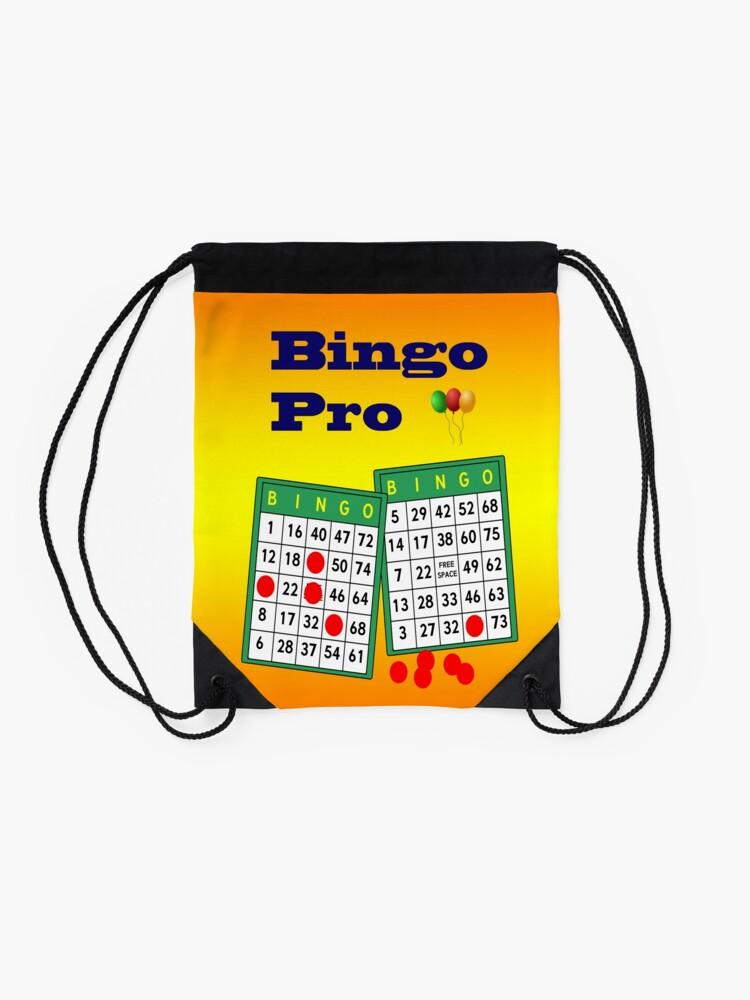 Alternate view of Bingo Pro Drawstring Bag