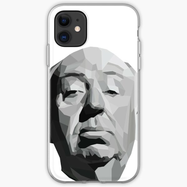 Alfred Hitchcock Geometric Graphic iPhone Soft Case