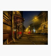 Moscow steampunk (sketch) Photographic Print