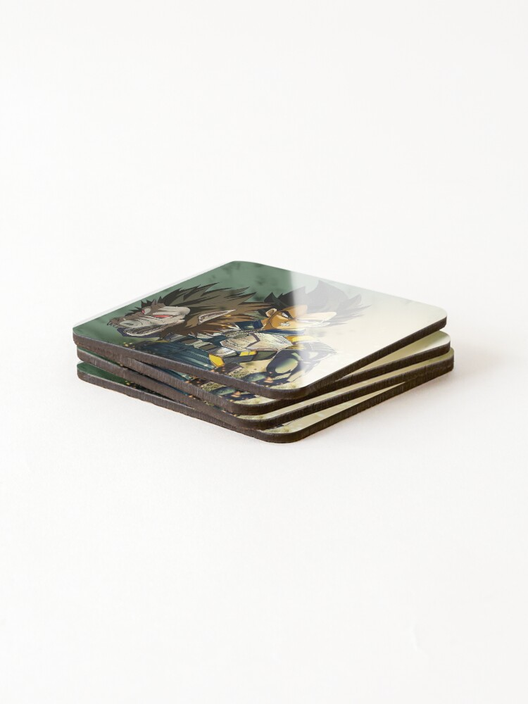 Alternate view of VEGETA - dbz Coasters (Set of 4)