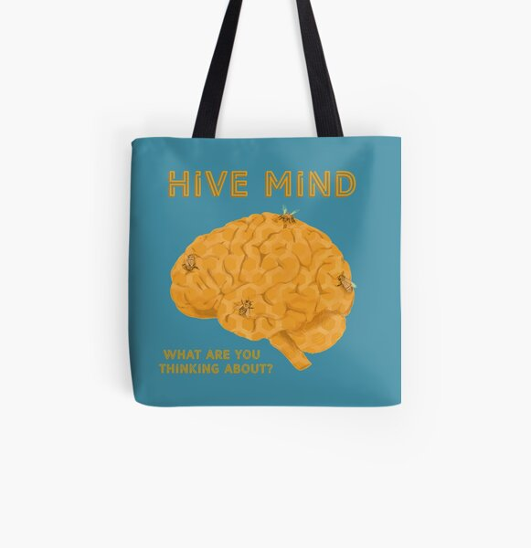 Hive Mind All Over Print Tote Bag