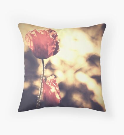 Journeys end in lovers meeting Throw Pillow