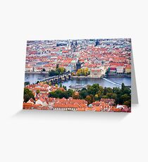 The Charles Bridge & Prague Greeting Card