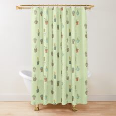 Cacti I Have Known Shower Curtain