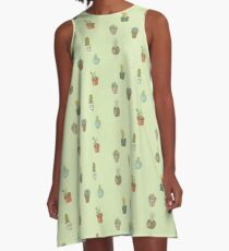 Cacti I Have Known A-Line Dress