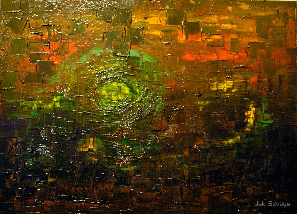Oily Abstract by Jak  Savage